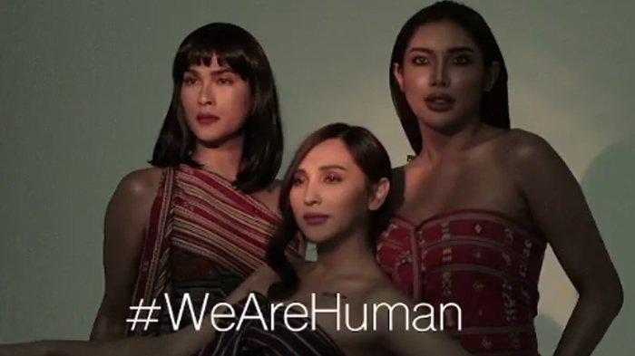 Oscar Lawalata, Dena Rachman, dan Millen Cyrus bikin project We Are Human.