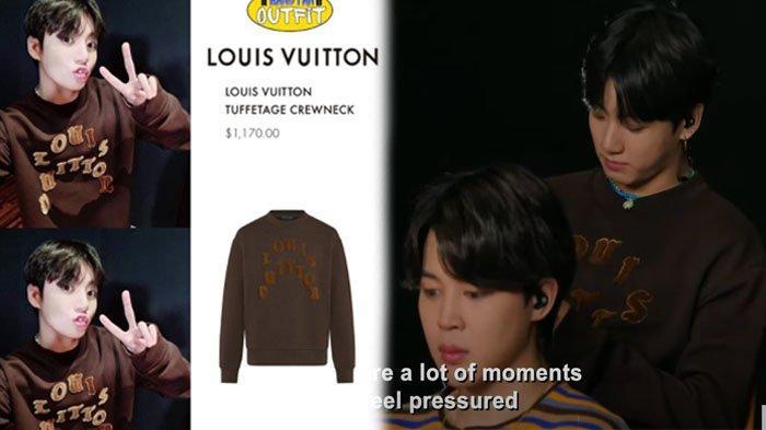 Harga Nyaris 17 Juta, Intip Baju Jungkook BTS saat Wawancara dengan Chris Martin, dari Louis Vuitton