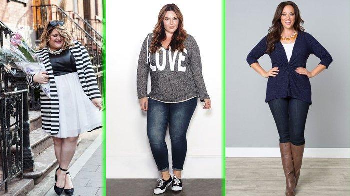 Pakaian untuk wanita gemuk