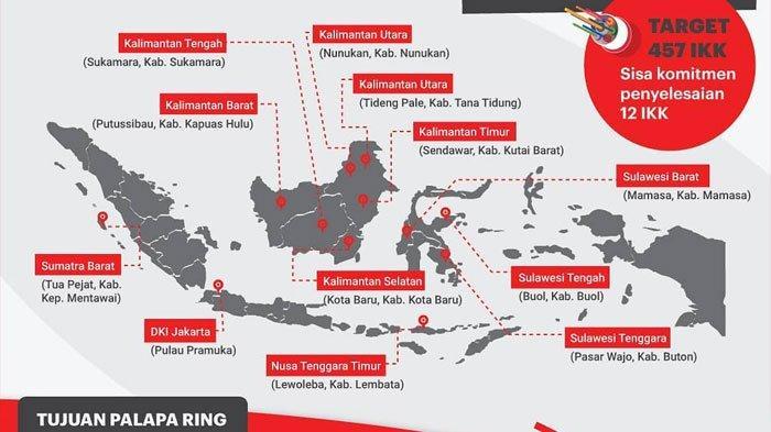 Palapa Ring Jadi Topik Terhangat di Dunia Internet Indonesia Pekan ini, Berikut Fakta Dibaliknya