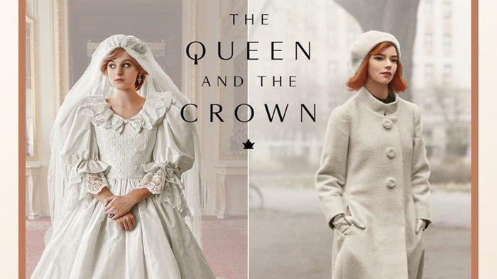 Intip Koleksi Kostum Serial Netflix 'The Crown' dan 'The Queen's Gambit' Lewat Pameran Virtual Ini