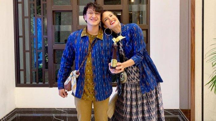 Nadine Chandrawinata dan Dimas Anggara.