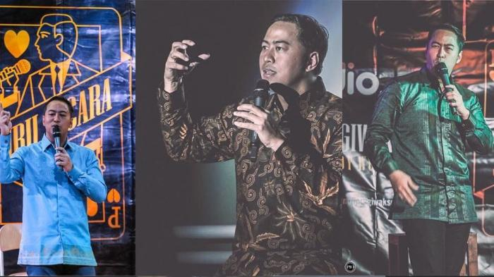 Stand Up Comedy Pandji Pragiwaksono - Keren! Keliling Dunia Berkat Juru Bicara