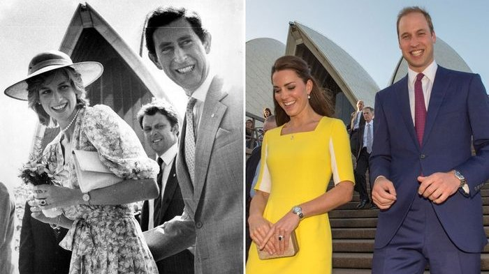 Ini Bukti Pangeran William dan Kate Middleton Gemar Reka Ulang Foto Putri Diana-Pangeran Charles