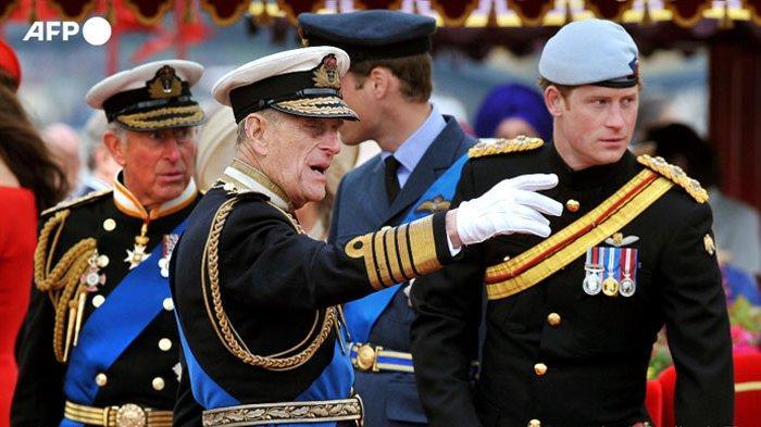 Anggota Keluarga Kerajaan Inggris, Tak Akan Kenakan Seragam Militer ke Pemakaman Pangeran Philip