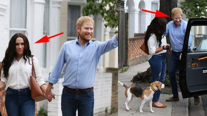'Pangeran Harry dan Meghan' Terlihat Naik Taksi dan Ajak Anjing ke Taman, tapi Ada yang Janggal