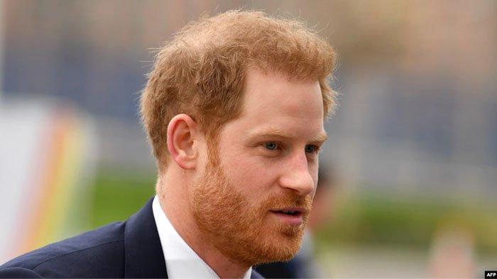 Pangeran Harry sudah tiba di Inggris untuk menghadiri pemakaman Pangeran Philip.