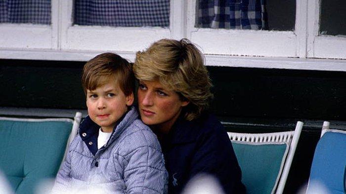 Pangeran William dan Putri Diana