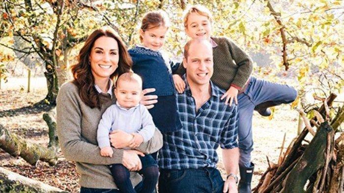 Pangeran William, Kate Middleton, Pangeran George, Putri Charlotte, Pangeran Louis