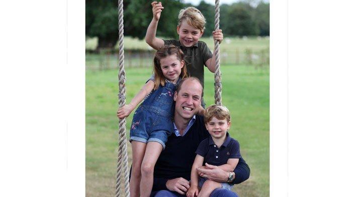 Pangeran William Ulang Tahun, Istana Bagikan Momen Hangat Ayah-anak yang Diabadikan Kate Middleton