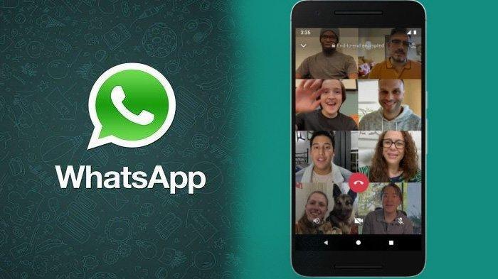 Videocall WhatsApp.