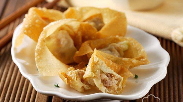4 RESEP Membuat Pangsit Goreng Paling Enak, Camilan yang Menggoda Selera: Pangsit Ayam, Vegetarian