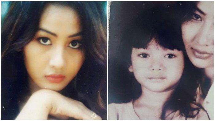 Paras cantik ibunda Glenca Chysara, Indah Syla.