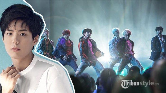 Datang ke Konser BTS, Aksi Fanboying Heboh Park Bo Gum Buat Netizen Gemas, Anti Pencitraan!