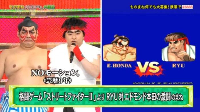 Bikin Ngakak! Duo Komedian Jepang Ini Sukses Parodikan Game Street Fighter dengan Kocak!