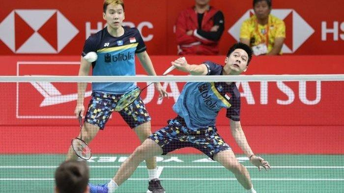 Link Live Streaming Final Badminton Asia Championship 2019, The Minions Marcus/Kevin Masuk Final