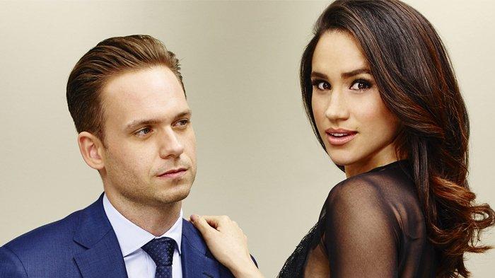 Jelang Royal Wedding, 'Suami' Meghan Markle dalam Serial TV Datang ke Inggris dan Posting Ini!