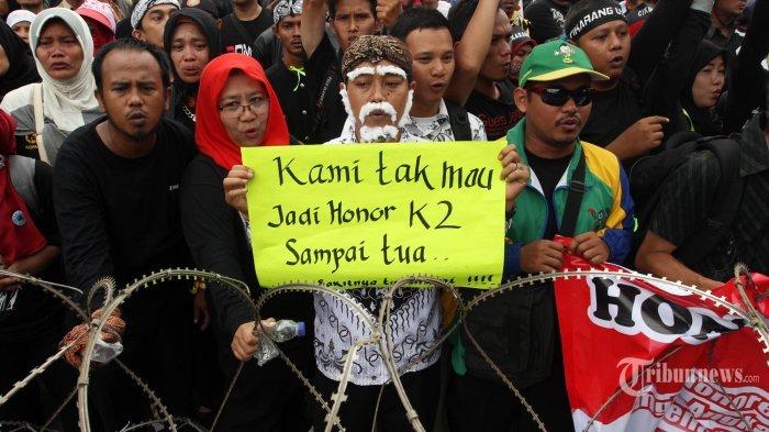 Pemerintah Siap Angkat Honorer K2 Jadi PNS tapi Penuhi 3 Syarat Ini