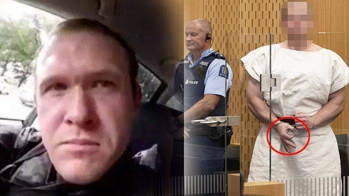Pelaku Penembakan Masjid di Selandia Baru Pose 'Ok' Saat Ditahan, Sebenarnya Buat Simbol Ini?