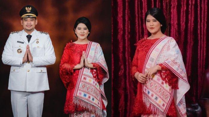 Dampingi Bobby Nasution Dilantik Jadi Wali Kota Medan, Intip Pesona Anggun Kahiyang Ayu Kenakan Ulos
