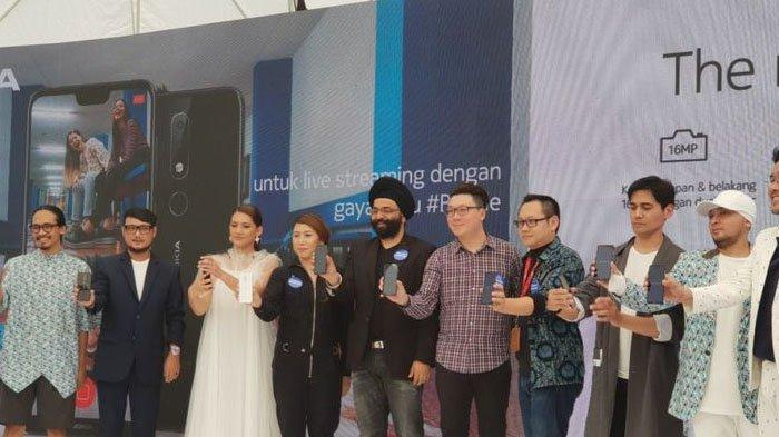 Peluncuran Nokia 6.1 Plus