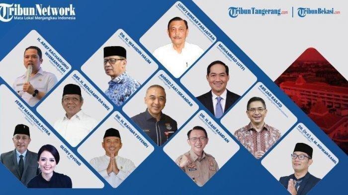 LIVE Peluncuran TribunBekasi.com, TribunTangerang.com, Dihadiri Menteri Luhut Binsar & Kepala Daerah
