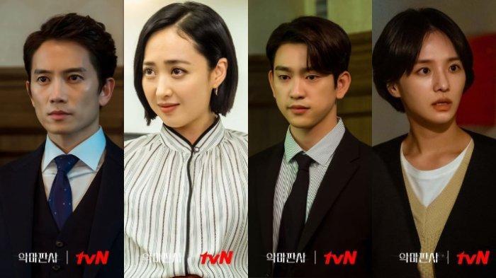 Profil Lengkap Pemain Utama The Devil Judge, Ji Sung, Kim Min Jung, Park Jin Young & Park Gyu Young