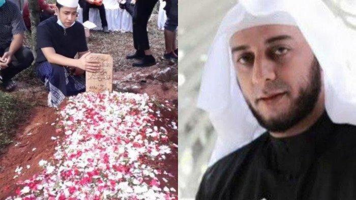 Momen haru saat pemakaman Syekh Ali Jaber.