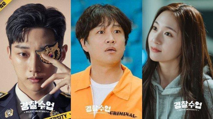 POPULER Profil Jin Young B1A4, Cha Tae Hyun dan Krystal f(x), Pemeran Drama Korea Police University