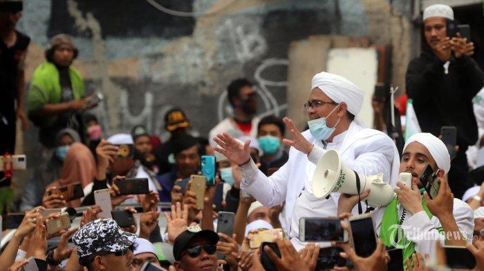 77 Orang Klaster Petamburan & Megamendung Positif Covid, Ini Kata FPI Soal Kondisi Rizieq Shihab