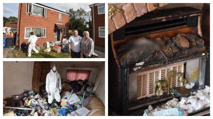 Penampakan Rumah Seorang Penimbun Barang Selama 20 Tahun, Tak Mau Membuang Sampah & Dipenuhi Tikus