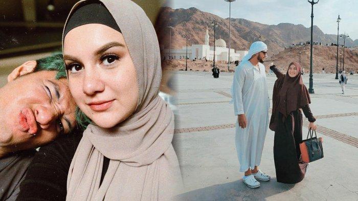 Penampilan Ammar Zoni Saat Umrah Bikin Pangling, Irish Bella Sebut Sang Suami Seperti Pangeran Arab