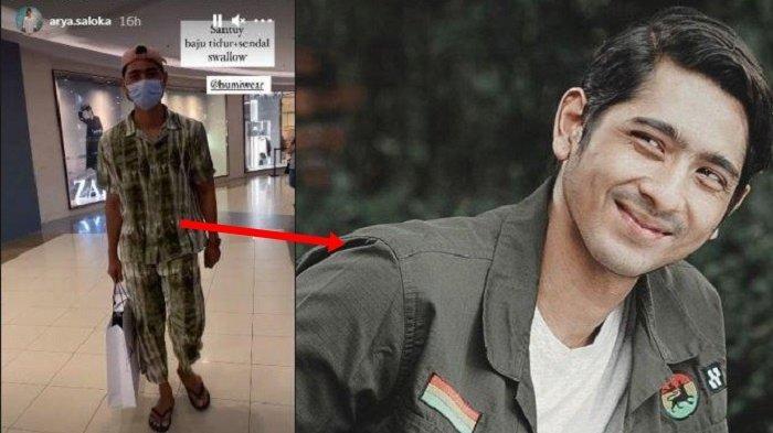 Pengunjung Mall Tertipu! Pria Pakai Baju Tidur & Sandal Jepit Itu Ternyata Arya Saloka 'Mas Al'