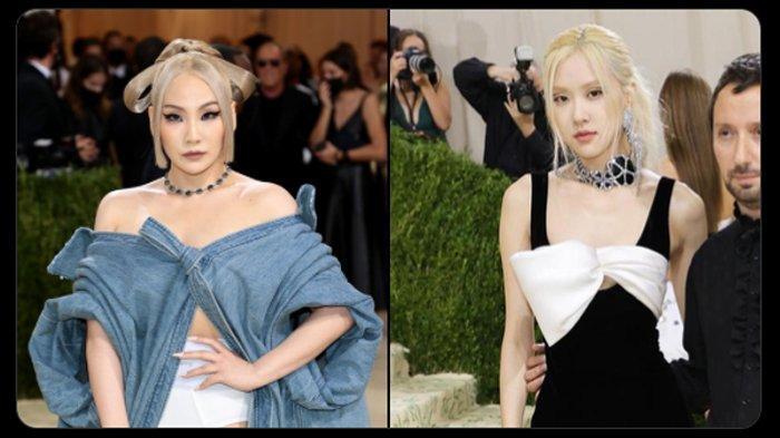 Rose BLACKPINK dan CL Jadi Idol K-Pop Perempuan Pertama di Met Gala 2021, Intip Penampilannya