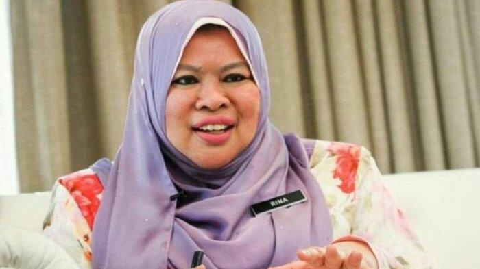 Penampilan Datuk Seri Rina dahulu