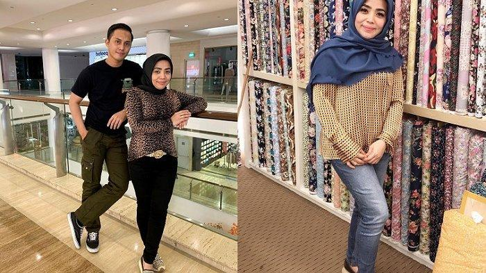 5 Foto Muzdalifah Tampil Bak Gadis Muda Pakai Jeans & Sneakers, Buat Fadel Islami Makin Cinta
