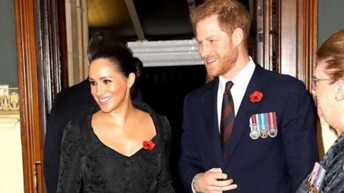 Penampilan Pangeran Harry dan Meghan Markle.