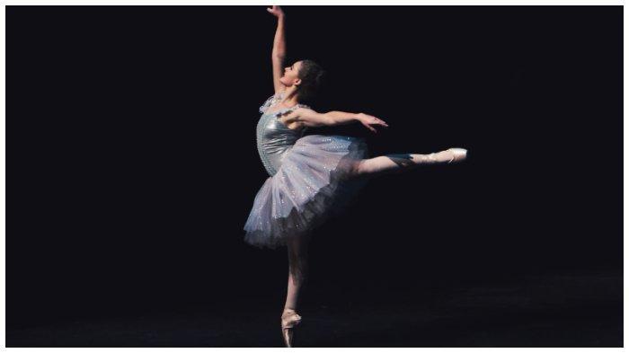 Ilustrasi penari balet.
