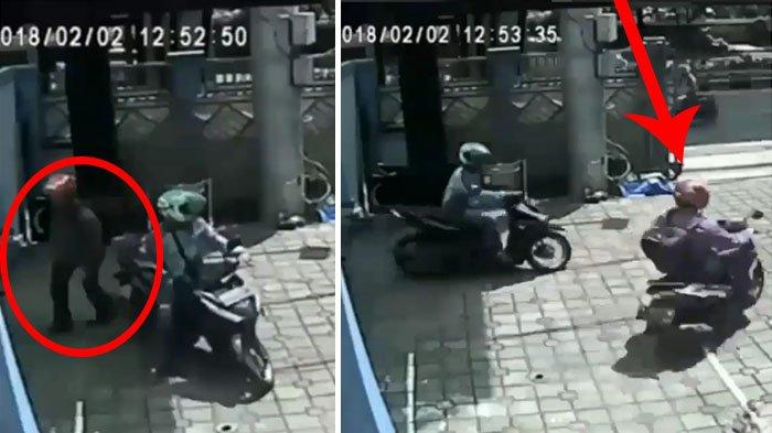 Modus Baru Pencurian Motor, Driver Ojol Pura-pura Antar Penumpang untuk Ambil Sesuatu, Padahal . .