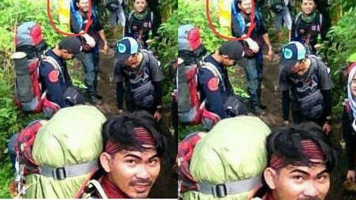 Asyik Selfie Saat Mendaki Gunung Slamet, Rombongan Ini Kaget Ada Makhluk Misterus di Foto