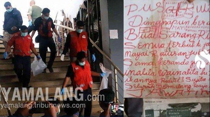 Penemuan mayat perempuan berusia 34 korban mutilasi di Pasar Besar, Malang, Selasa (14/05/2019)
