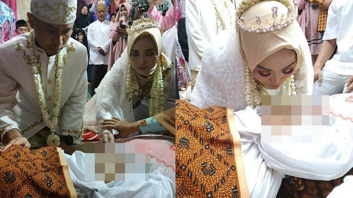 Viral Hari Ini, Pengantin Ijab Kabul di Samping Jenazah Ibu, Sang Ibu Meninggal 5 Jam Sebelum Akad