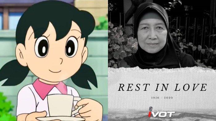 BERITA DUKA, Pengisi Suara Shizuka di Film Anak Doraemon Meninggal, Sebelumnya Idap Gagal Ginjal