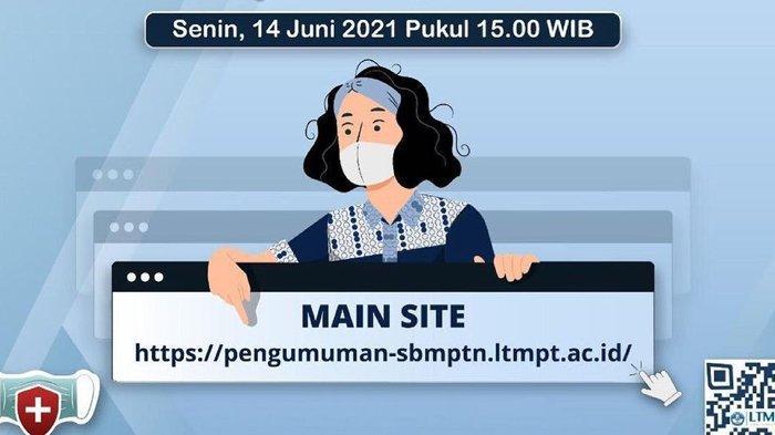 Cara Cek serta Daftar Link Hasil UTBK - SBMPTN 2021, Selamat bagi Peserta yang Lolos