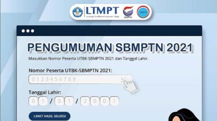 Hasil SBMPTN 2021 Diumumkan Sore Ini Pukul 15.00 WIB, Berikut Jumlah Peserta yang Lolos