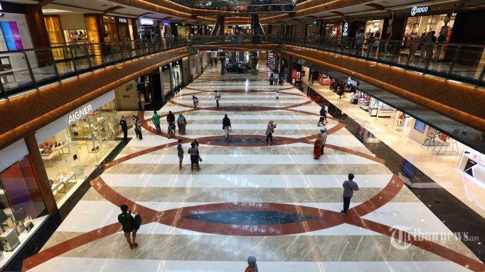 Salah satu pusat perbelanjaan di Jakarta.