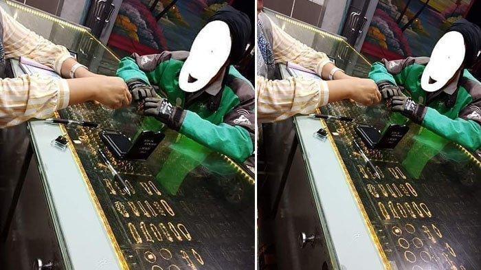 Penjaga Toko Emas Ini Terharu Didatangi Driver Ojol, Modal Rp 350 Ribu untuk Beli Kado Ultah Istri