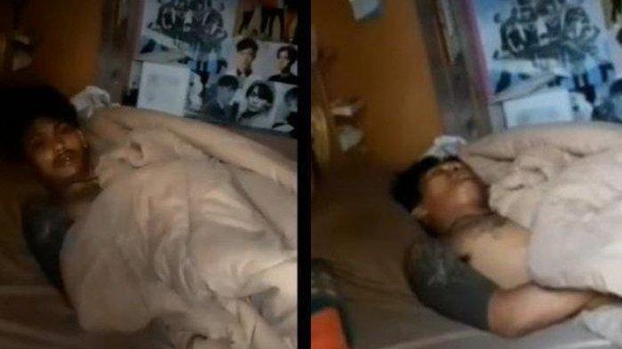 Perampok tertangkap tidur di kasur yang dirampok, nyalakan AC, pakai selimut