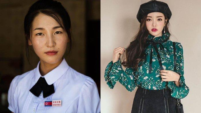 5 Potret Beda Pesona Wanita Korea Utara & Korea Selatan, Cantik Memukau Natural vs Fashionable