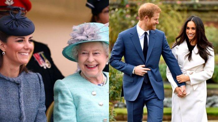 Perbedaan Ini Jadi Alasan Ratu Elizabeth Lebih Menyukai Kate Middleton Ketimbang Meghan Markle